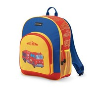 "Crocodile Creek Pocket Backpack - Firetruck 11.5""W x 14""H"