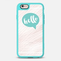 iPhone Case With Interchangeable Back Plates by Casetify | Hello Bubble Design by Hey Love Designs (iPhone 6, 6s, 6 Plus, 6s Plus, 7)