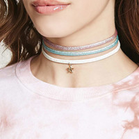 Star Charm Choker Set
