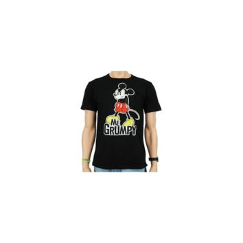 Logoshirt mens T-shirt Disney Mickey Mouse Me Grumpy