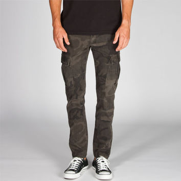 Charles And A Half Mens Skinny Cargo Pants Camo  In Sizes