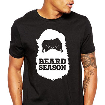 Funny Beard Shirt - Funny T Shirt - Gifts for Men - Father's Day - Funny Shirt - Awesome Beard Season - Groomsmen Gift - Mustache Shirt