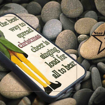 Christmas elf quotes iPhone Case, iPhone 4/4S, 5/5S, 5c, Samsung S3, S4 Case, Hard Plastic and Rubber Case By Dsign Star 08