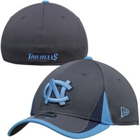 New Era North Carolina Tar Heels :UNC: Training Classic Flex Hat - Graphite