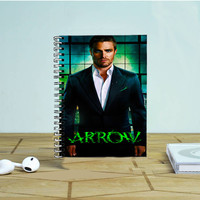 Arrow Oliver Queen Photo Notebook Auroid