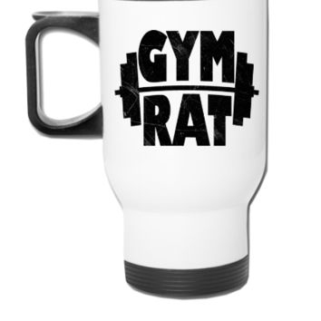 Gym Rat - Travel Mug