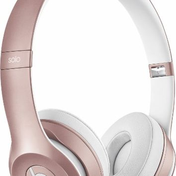 Beats by Dr. Dre - Solo2 On-Ear Wireless Headphones - Rose Gold