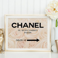 COCO CHANEL DECOR Chanel 31 Rue Cambon Paris,Fashion Print,Fashionista,Chanel Logo,Affiche Scandinavian,Coco Chanel Paris,Modern Decor,