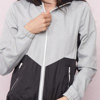 The Sporty Windbreaker