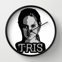 Divergent: Tris Wall Clock by Flash Goat Industries