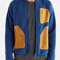 adidas Blue Polar Fleece Jacket- Navy