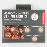 KIKKERLAND Moroccan Lantern String Lights | Toys & Novelties