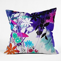 Holly Sharpe Captivate Floral Throw Pillow