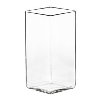 Ruutu Vase Medium in Clear - Pop! Gift Boutique