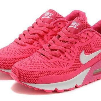 LMF8KY Nike Air Max 90 Rose 'Pink/White'
