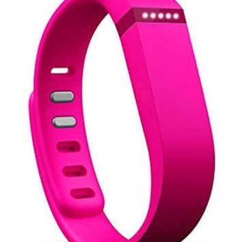 Fitbit FLEX Pink Wireless Tracker NEW Activity Sleep Wristband - Small+Large -