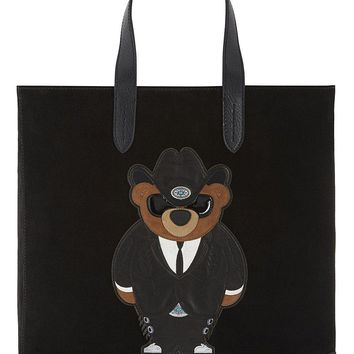 Purple Label Bear Insignia Tote by Ralph Lauren