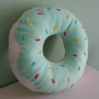 Large Donut Pillow