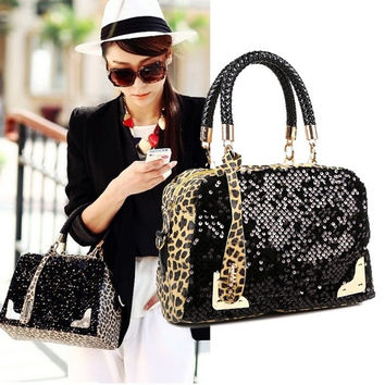 New Women Ladies Handbag Shoulder Bags Tote Purse PU Leather Women Messenger Bag D_L = 1708621764