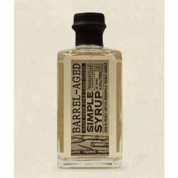 Woodinville Whiskey Barrel Aged Simple Syrup 8.5 Oz - AVAILABLE NOW