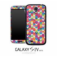 Colorful Tiled Arrow Skin for the Galaxy S4