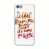 Coffee Keeps Me Going Phone Case iPhone 4 4s 5 5s 5c SE 6 6s Plus