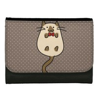 Cute Kitties with Accessories Women's Wallet