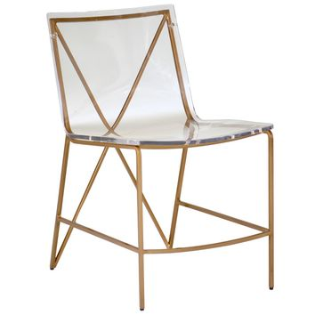 Gabby Johnson Dining Chair | New Furniture | What's New! | Candelabra, Inc.