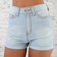 Duke Denim Shorts | SABO SKIRT