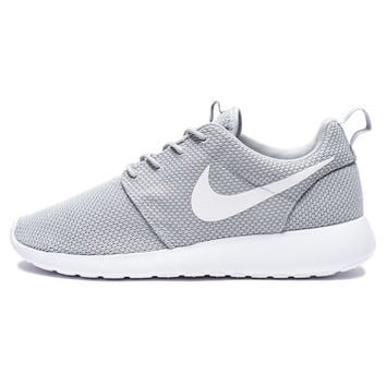 san francisco e6cf0 16202 NIKE ROSHE ONE - WOLF GREY WHITE   Undefeated