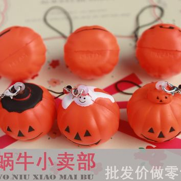 kawaii  Halloween  pumpkin  squishy  squeeze
