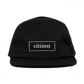 Citizen - 5 Panel Hat - Apparel