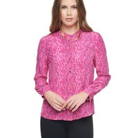 Embellished Silk Blouse by Juicy Couture