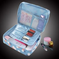 Women cosmetic bag makeup organizer travel storage case (multi color/designs)