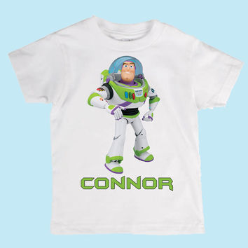 Personalized Disney's Toy Story Buzz Lightyear Custom Shirt or Onesuit
