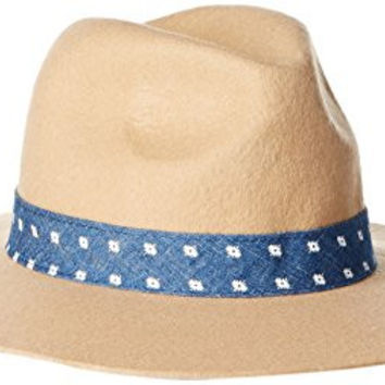 Keds Women's Felt Floppy Hat, Latte/Navajo, One Size