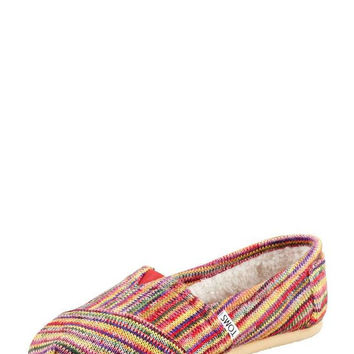 Toms Mens Fleece-Lined Slip-On Size 7