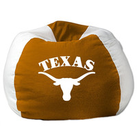 Texas Longhorns NCAA Team Bean Bag (96in Round)
