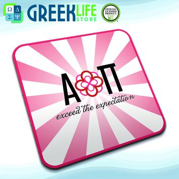 Alpha Omicron Pi Coasters (set of four)