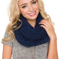 Once Upon A Time Scarf - Navy - One Size / Navy