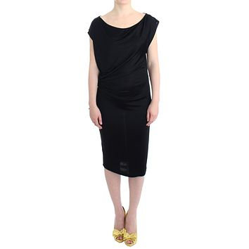 Black assymetric dress