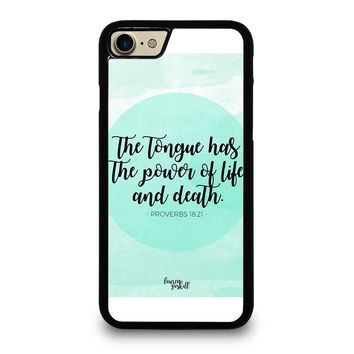 BIBLE VERSES FOR ANGER iPhone 4/4S 5/5S/SE 5C 6/6S 7 8 Plus X Case