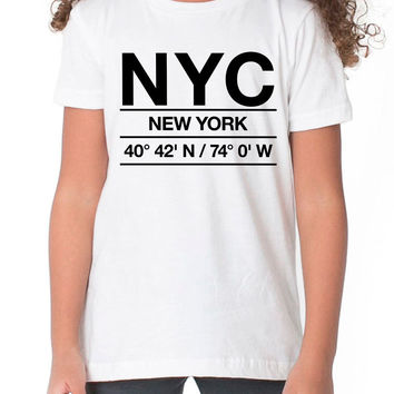 NYC Airport Shirt Kids