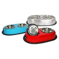 Boots & Barkley® Double Dinner Assorted Dog Bowls 28 oz