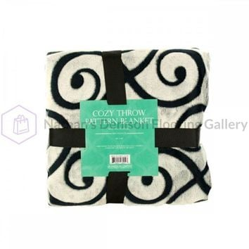 Cozy Cutting Flannel Fleece Throw Blanket OL638