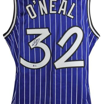 ESBONY Shaquille O'Neal Signed Autographed Orlando Magic Basketball Jersey (Beckett COA)