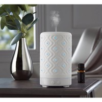 Mainstays Essential Oil Diffuser, White Ceramic - Walmart.com