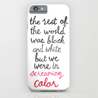 Screaming Color iPhone & iPod Case by Tangerine-Tane