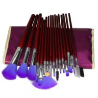 16 Pcs Makeup Brush Set with Bag