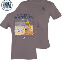 "Simply Southern Unisex ""Southern Traditions"" Tee - Steel"